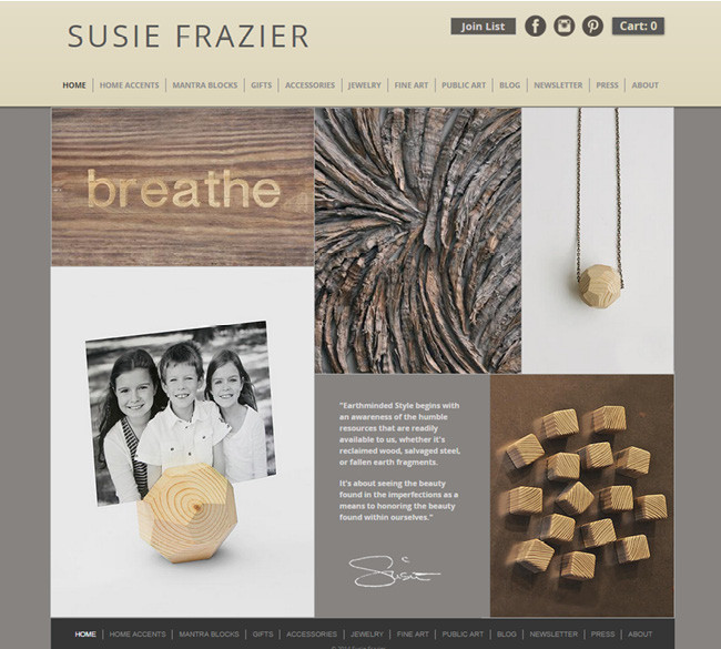 Susie Frazier - Reclaimed Jewelry and Accessories