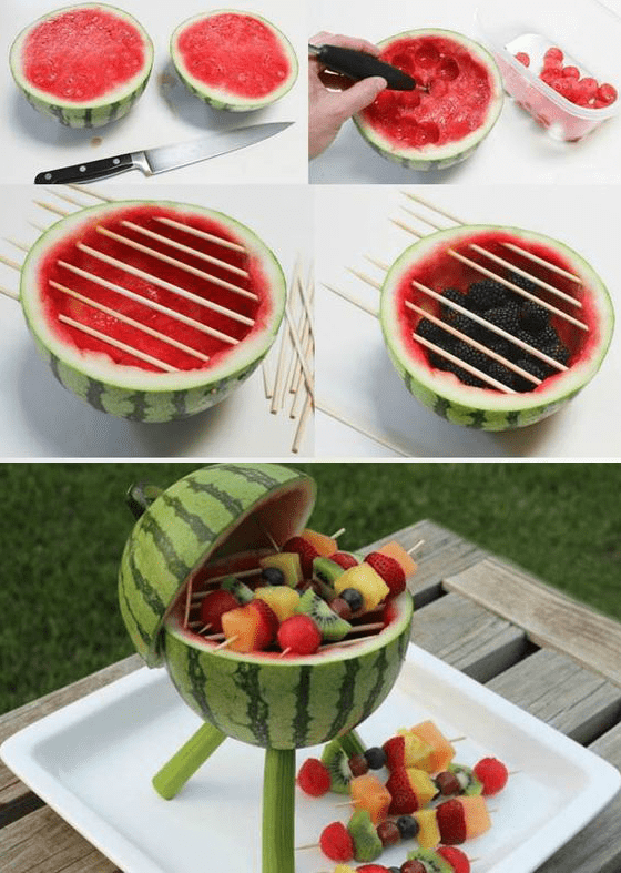 DIY fruit BBQ labor day picnic desserts