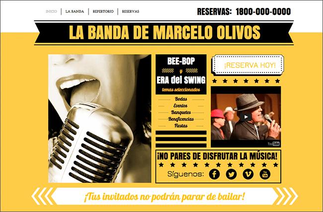 Plantilla: La Banda de Swing