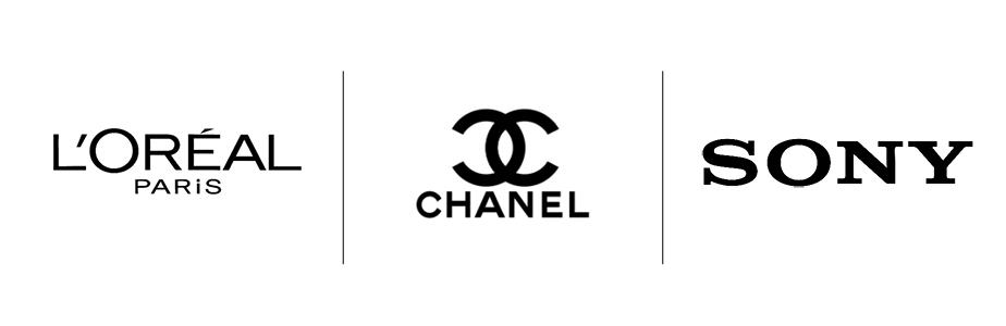 Tendências para Logos que Vão Transformar a sua Marca: Preto e branco