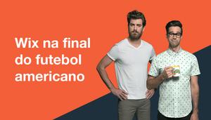 Foi assim que decidimos anunciar na final do futebol americano… ONTEM