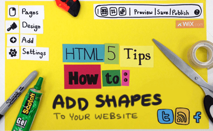 HTML5 Tips: How to Add Shapes to Your Website