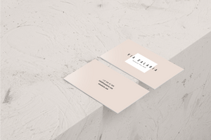 Business card and branding design