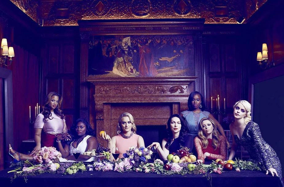 Dinner Photo of the Actresses of Orange is the New Black by Wix Photographer Diego Uchitel