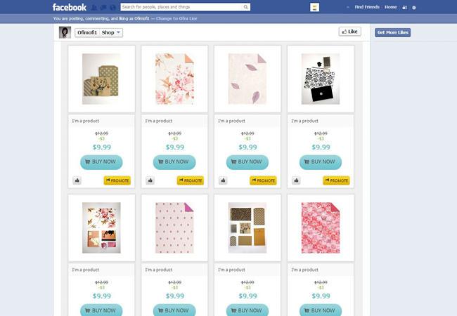 Com o Easy Social Shop, você cria uma loja no Facebook em segundos.