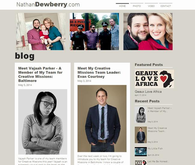 Nathan Dewberry >>