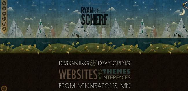 Ryan Scherfのホームページ