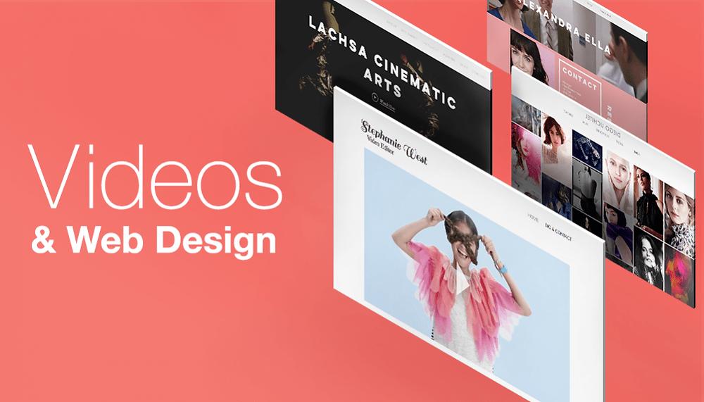VIdeos and Web Design
