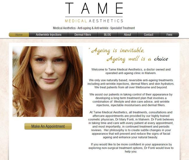 Tame Medical Aesthetics