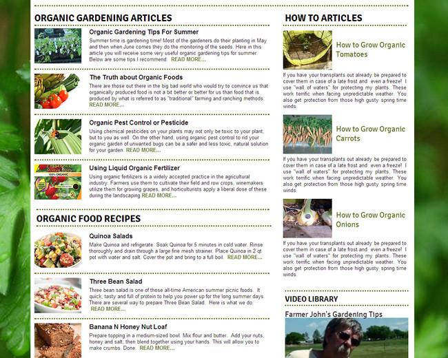 All Organic Online