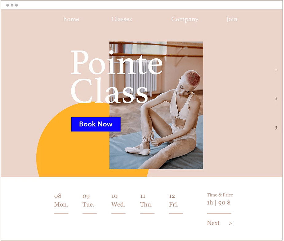 How to Build a Portfolio Website for Your Freelance Biz: Wix Bookings