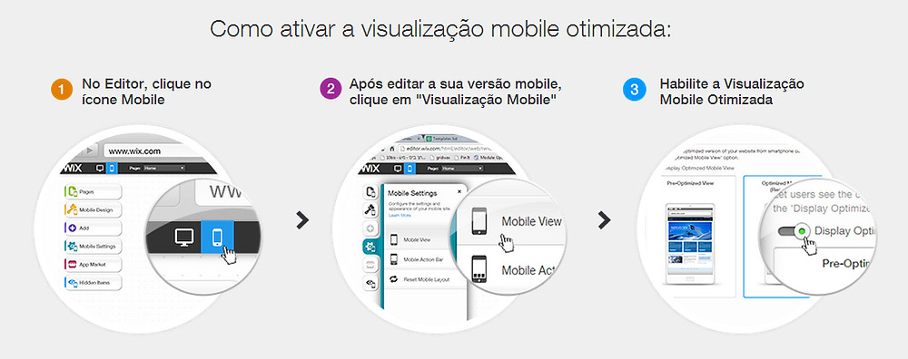 Veja como é fácil criar um site mobile com o Wix