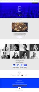 Template Wix Conferência de Negócios