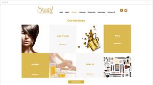 Exemplo de site de prestador de serviços
