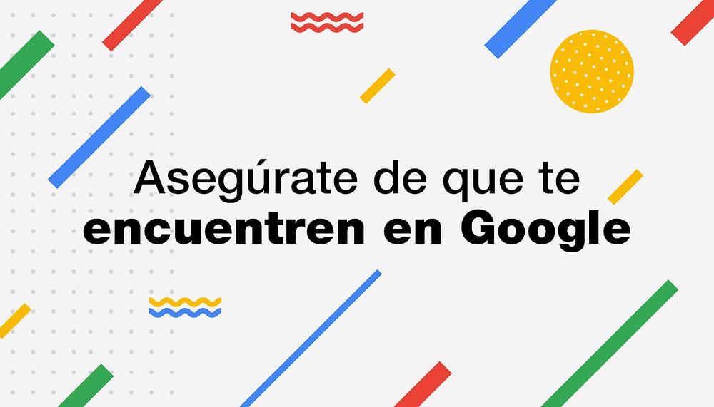 Haz que la gente encuentre tu página web en Google siguiendo estos 6 pasos