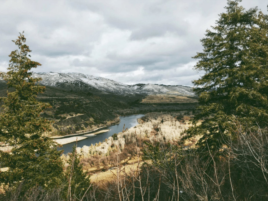 Rio South Fork Snake, Estados Unidos por Torey Hill