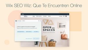 Posiciónate mejor en Google con Wix SEO Wiz