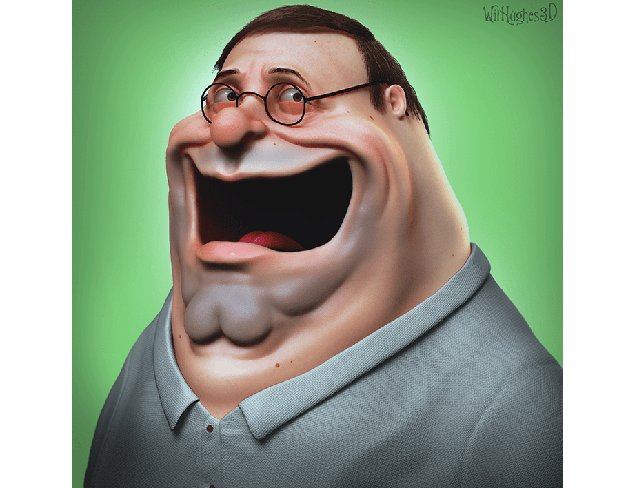 Horror Version of Peter Griffin by Wix User Wil Hughes