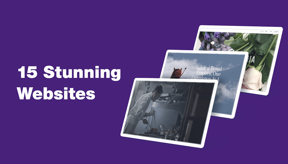 15 Examples of Striking Website Design We've Seen