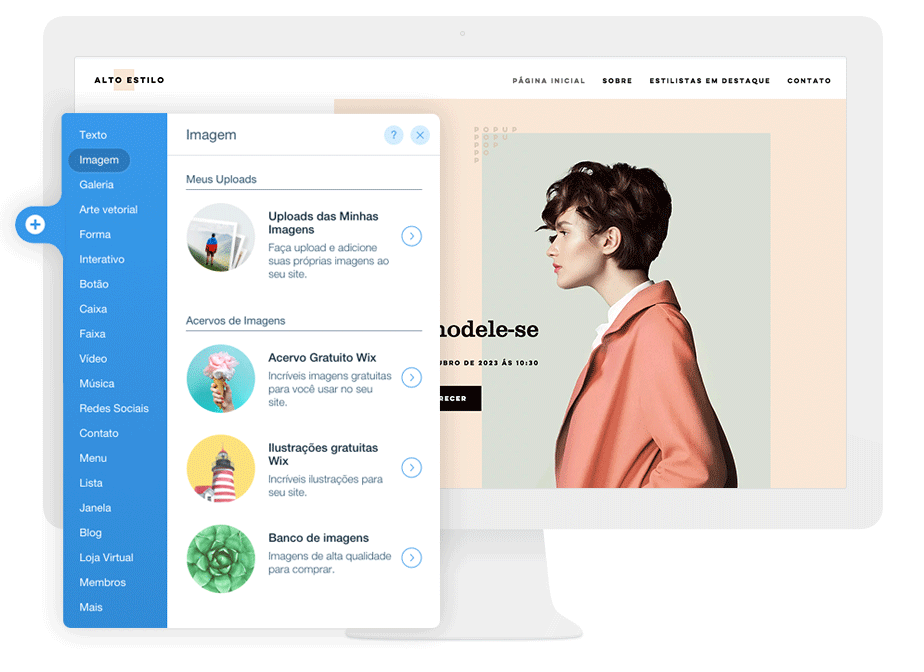 Como editar e personalizar seu site