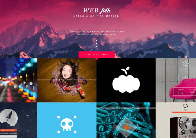 Template Wix - Estúdio de Web Design