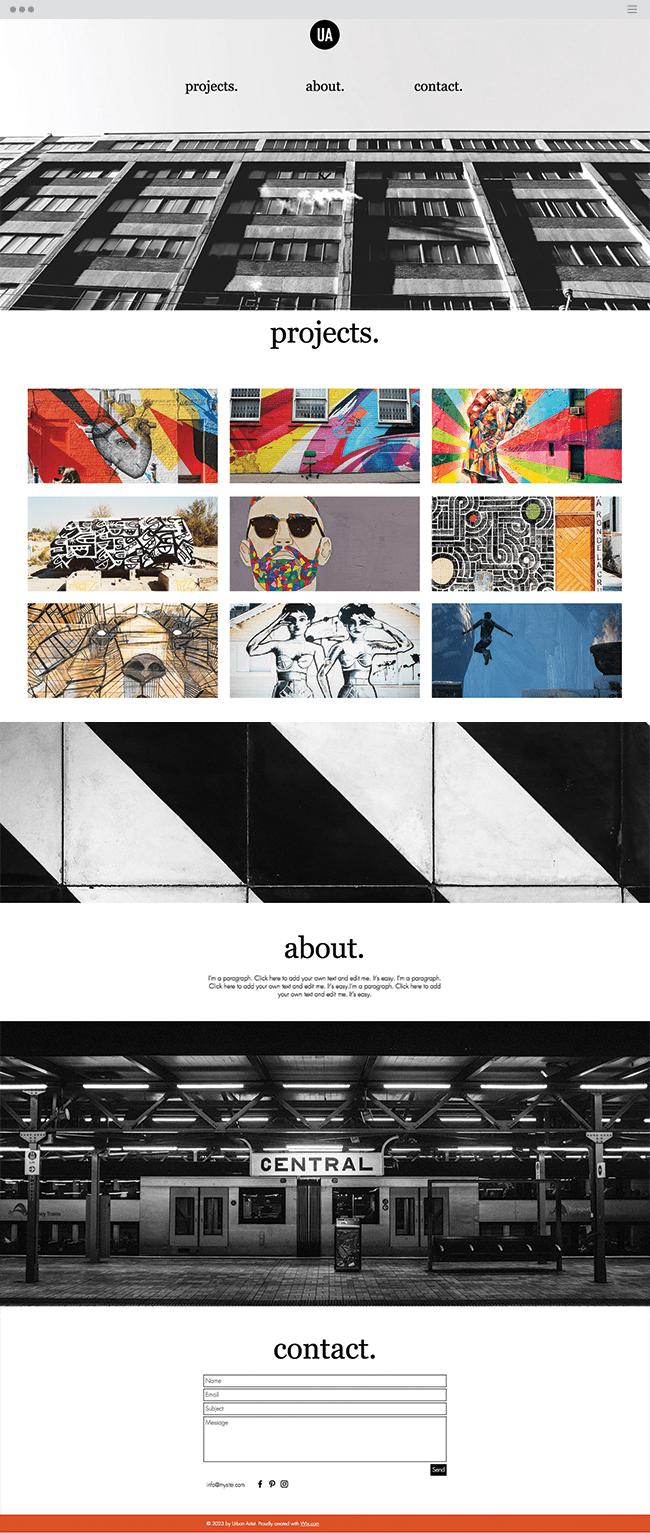 site de grafitiero