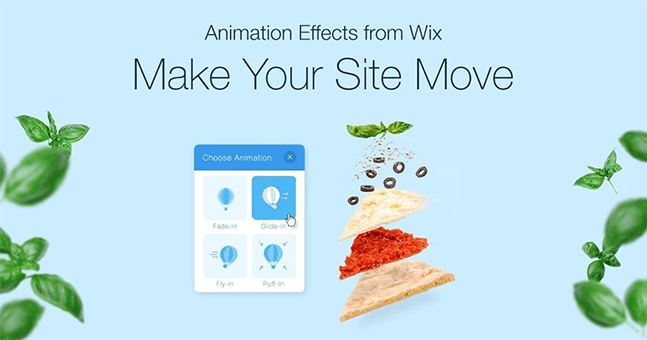 Wix social ideas: product and features