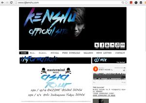 ホームページDJ Kenshu