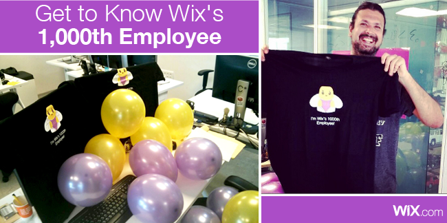 Get to Know Wix's 1,000th Employee