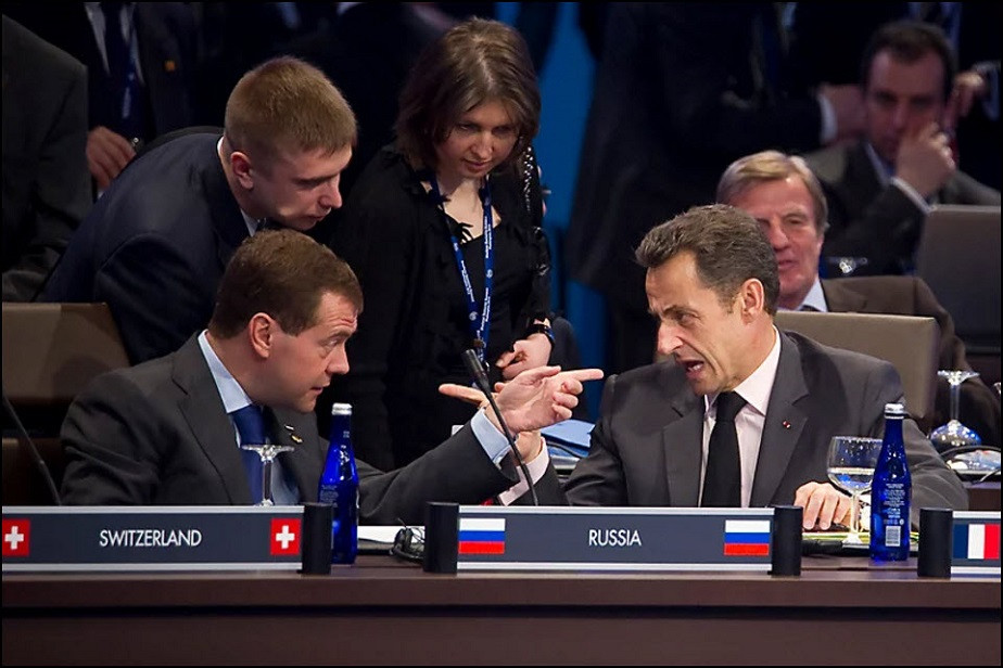 sarkozy and medvedev by wix photographer Ian Langsdon