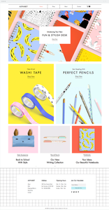 Plantilla Stationery Online Store