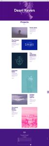 site de designer multidisciplinar