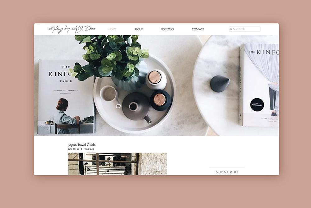 Good UX Design on Website