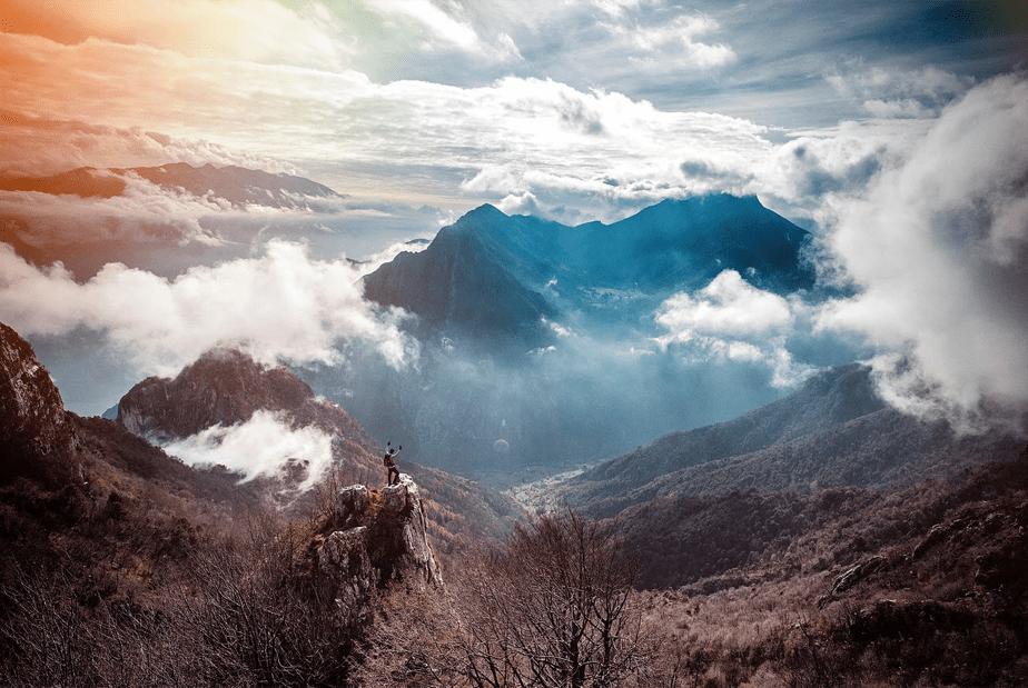 Lago de Garda, Itália por Mattia Bonavida