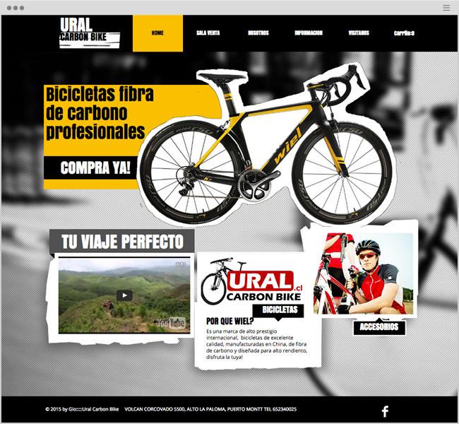 Ural Carbon Bike