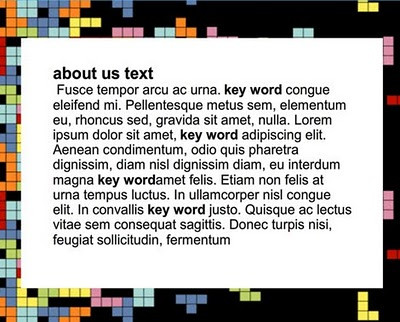 Website Style Guide: words