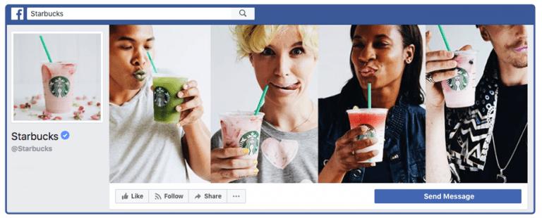 Starbucks Facebook Cover Photo