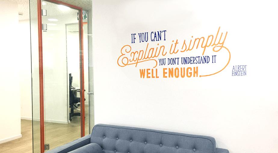 Wix Office Art - Albert Einstein Quote