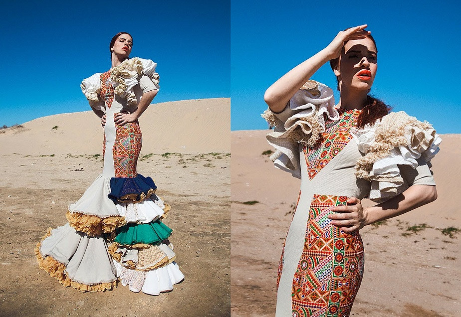 Photo Shoot of Flamenco Dancer in White Dress by Wix Photographer Carlos Villarejo