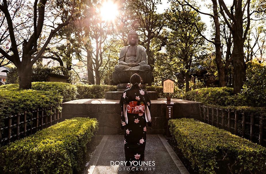 Mujer en Kimono del fotógrafo Wix Dory Younes-2