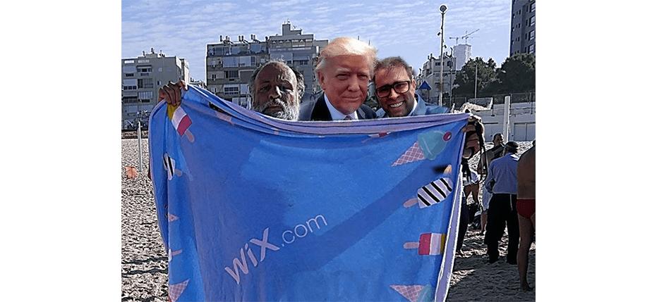 Imagen 14: Opher + Selfie con Trump