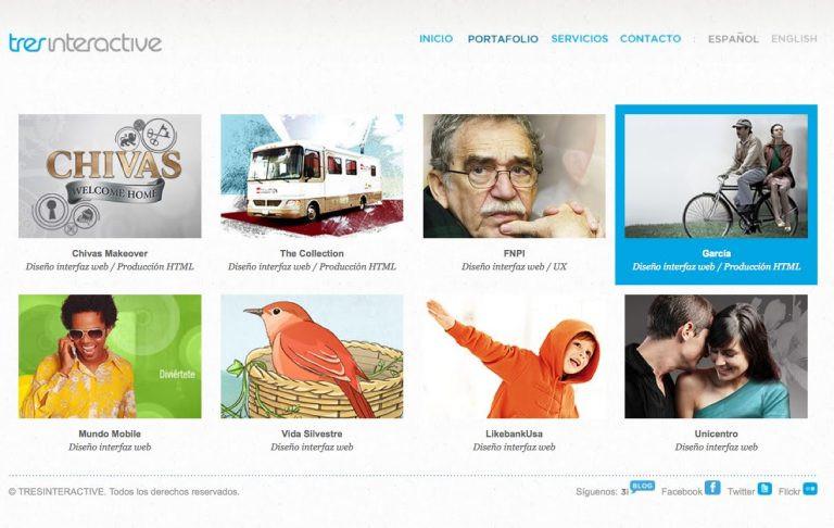 Página web multilingue