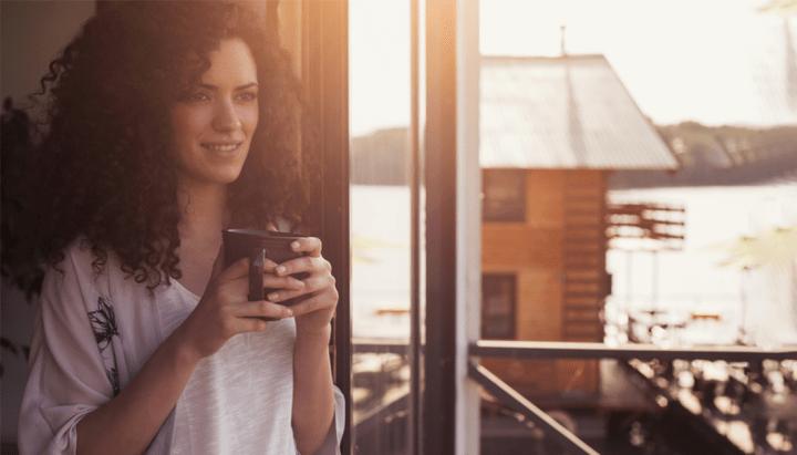 10 Formas de Relaxar em até 5 Minutos: Dar uma olhada pela janela