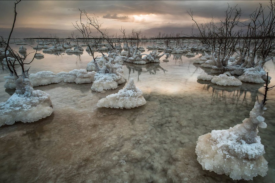 nature photography dead sea by Wix photographer tomasz solinski