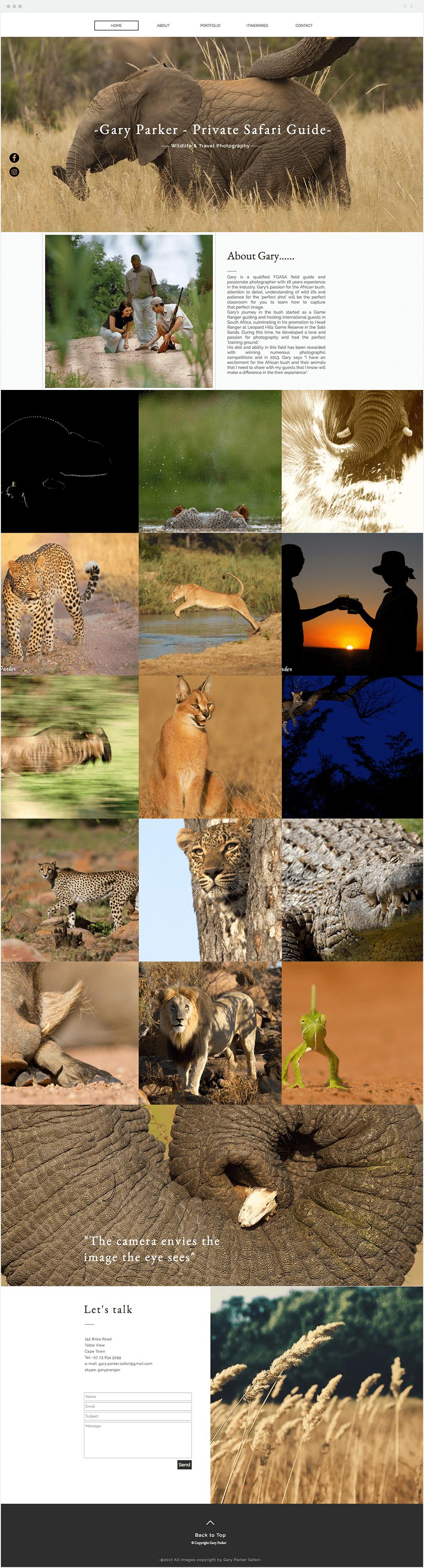 Gary Parker - Private Safari Guide