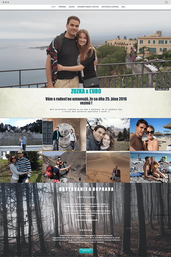 Sofisticado Site com Faixas de Zuzka & L'ubo