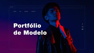 10 Exemplos de Sites de Portfólios de Modelo Impecáveis