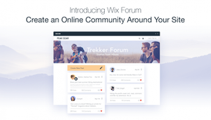 Wix Forum: Create and Manage Your Online Community