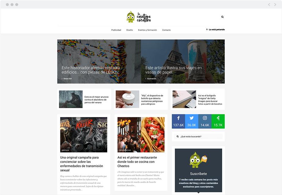 Blog Criatura Creativa