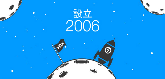 Wixが2006年に設立